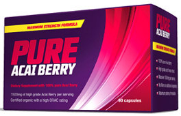 pure acai berry detox diet cleanse pill