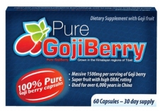 pure goji berry detox diet